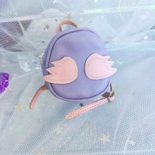 "backpack - purple with wings - Online shop ""Villi Tunes Doll"""