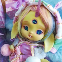 "FULL-SET - for Lamoon - pink green candy - Online shop ""Villi Tunes Doll"""