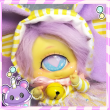 "OUTFIT - candy circus elephant - yellow-purple - Online shop ""Villi Tunes Doll"""