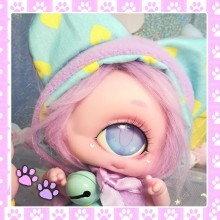 "OUTFIT - mint-purple kitten - Online shop ""Villi Tunes Doll"""