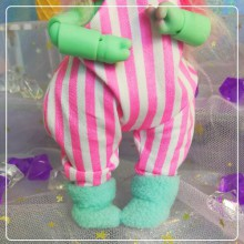 "Jumpsuit in pink stripes  - Online shop ""Villi Tunes Doll"""