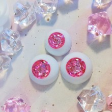 "eyes 16 - 14 mm - *Rubellite Rose* - Online shop ""Villi Tunes Doll"""