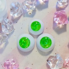 "eyes 16 - 14 mm - *Japanese matcha Tea* - Online shop ""Villi Tunes Doll"""