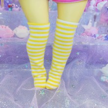 "Socks size 1\6 - blue stripes - Online shop ""Villi Tunes Doll"""