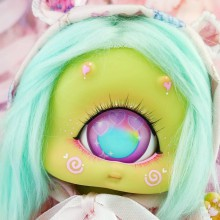 "Cyclops Loppi-MOON - Green TEA - Online shop ""Villi Tunes Doll"""