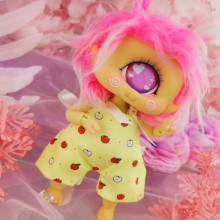 "Jumpsuit - short - sweet apple - Online shop ""Villi Tunes Doll"""