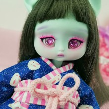 "OUTFIT  -  KIMONO -  hide and seek with rabbits - Online shop ""Villi Tunes Doll"""