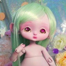 "Mouse Mimi - chu - in colour PURLE-PINK - Online shop ""Villi Tunes Doll"""