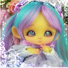 "OUTFIT  -  LOLITA - Purple candy - Online shop ""Villi Tunes Doll"""