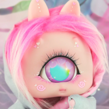"Cyclops Loppi-MOON - Light Pink - Online shop ""Villi Tunes Doll"""