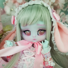 "OUTFIT - LOLITA - BUNNY -  purple strawberries - Online shop ""Villi Tunes Doll"""