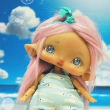"Chocote mouse - caramel tan (RESIN) - Online shop ""Villi Tunes Doll"""