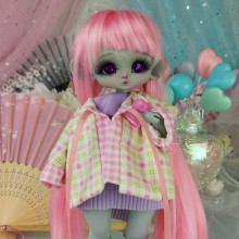 "SET  - purple summer - Online shop ""Villi Tunes Doll"""