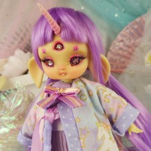 "SET  - Happy Unicorn - Online shop ""Villi Tunes Doll"""
