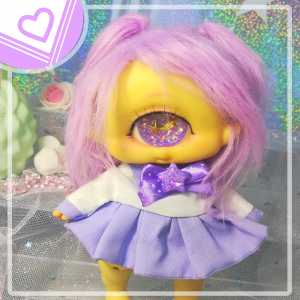 "Sailorfuku - ^^Kawaii purple - for Mizuki & Chocote - Online shop ""Villi Tunes Doll"""