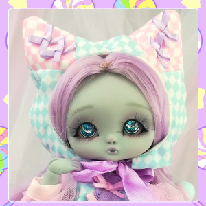 "OUTFIT  -  CAT - Candy - purple - Online shop ""Villi Tunes Doll"""