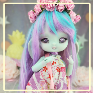 "Jumpsuit - Summer - Purple Sakura - Online shop ""Villi Tunes Doll"""