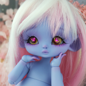 "Mouse Mimi - chu in colour Sweet Blueberries - Online shop ""Villi Tunes Doll"""