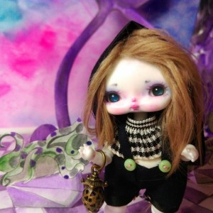 "Vivi Bunny - light pink (RESIN) - Online shop ""Villi Tunes Doll"""