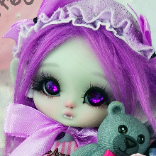 "Mouse Mimi - chu in colour Light grey - Online shop ""Villi Tunes Doll"""