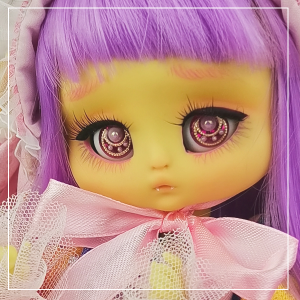"Kitty - Minami - Light lemon yellow - Online shop ""Villi Tunes Doll"""