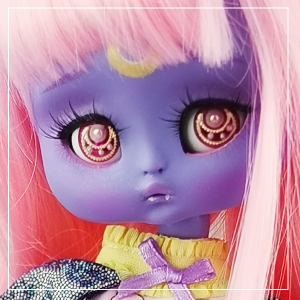 "Kitty - Minami - Sweet blueberries - Online shop ""Villi Tunes Doll"""