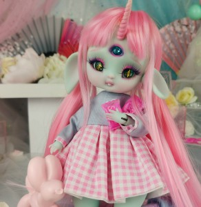 "Dress - Candy with Love - Online shop ""Villi Tunes Doll"""