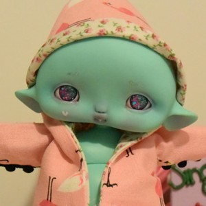 "hood  Flamingo for Cyclops - Mouse - Online shop ""Villi Tunes Doll"""