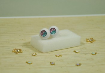 "eyes 16 mm - *pink blue* - Online shop ""Villi Tunes Doll"""