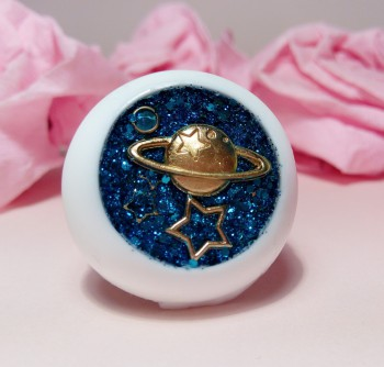 "Eye 50 mm - blue planet - Online shop ""Villi Tunes Doll"""