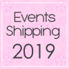 "Events 2019 / shipping 2019 - Online shop ""Villi Tunes Doll"""